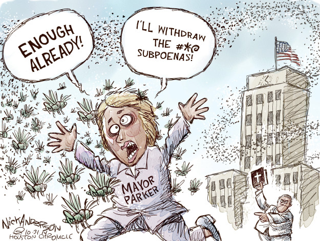 Nick Anderson  Nick Anderson's Editorial Cartoons 2014-10-31 christianity