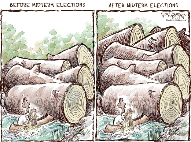 Nick Anderson  Nick Anderson's Editorial Cartoons 2014-11-06 Obama administration