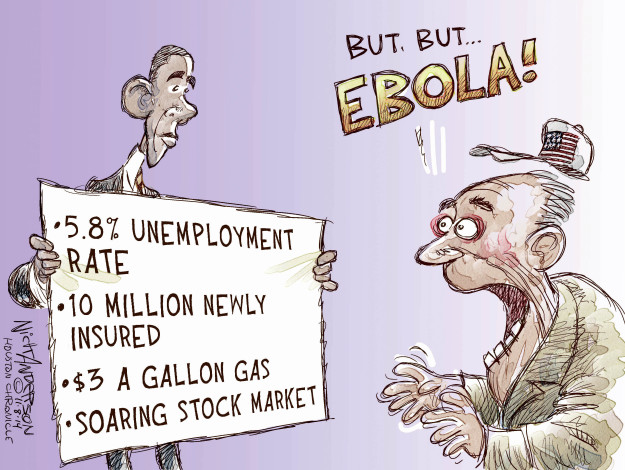 Cartoonist Nick Anderson  Nick Anderson's Editorial Cartoons 2014-11-09 unemployment