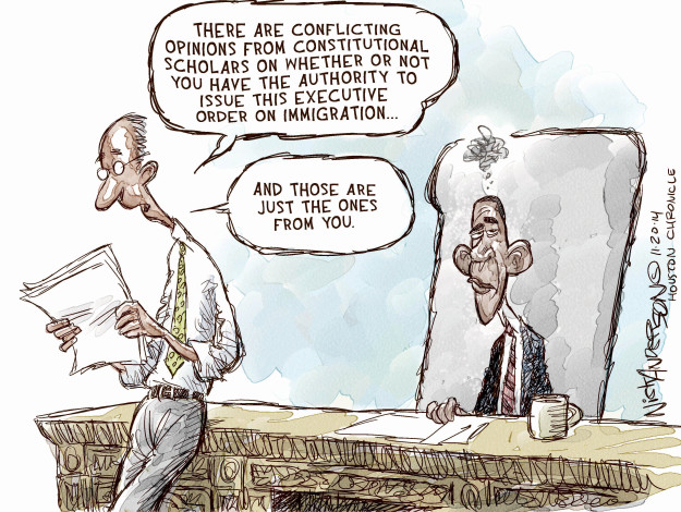 Nick Anderson  Nick Anderson's Editorial Cartoons 2014-11-20 Constitution