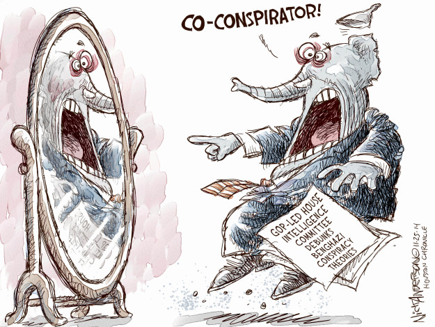 Nick Anderson  Nick Anderson's Editorial Cartoons 2014-11-25 theory