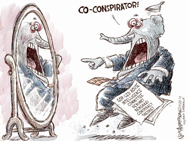 Nick Anderson  Nick Anderson's Editorial Cartoons 2014-11-25 intelligence