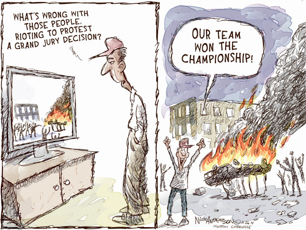 Cartoonist Nick Anderson  Nick Anderson's Editorial Cartoons 2014-11-26 automobile
