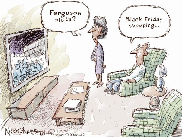 Cartoonist Nick Anderson  Nick Anderson's Editorial Cartoons 2014-11-30 holiday