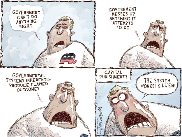 Cartoonist Nick Anderson  Nick Anderson's Editorial Cartoons 2014-12-04 political system