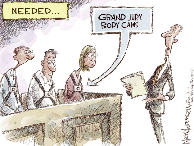 Cartoonist Nick Anderson  Nick Anderson's Editorial Cartoons 2014-12-07 Michael