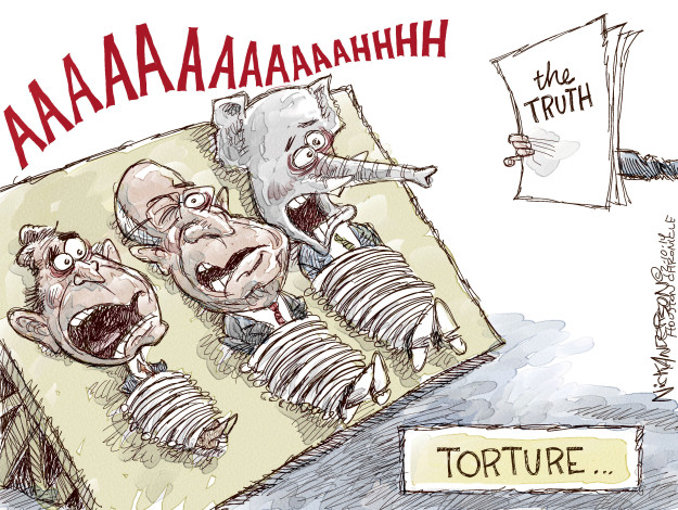 Cartoonist Nick Anderson  Nick Anderson's Editorial Cartoons 2014-12-10 Dick Cheney