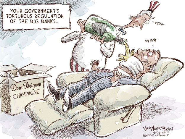 Cartoonist Nick Anderson  Nick Anderson's Editorial Cartoons 2014-12-14 regulation