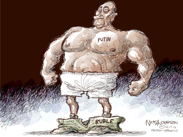 Putin. Ruble.
