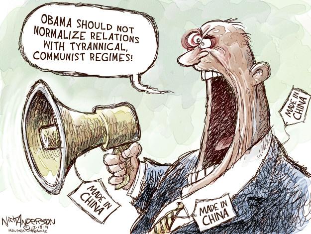Cartoonist Nick Anderson  Nick Anderson's Editorial Cartoons 2014-12-18 economic policy