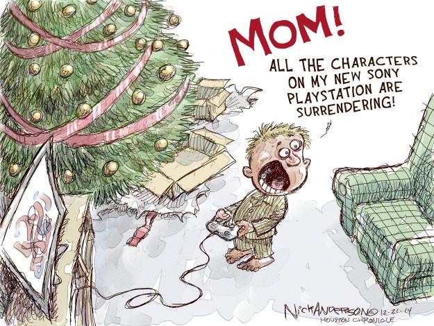 Nick Anderson  Nick Anderson's Editorial Cartoons 2014-12-21 all