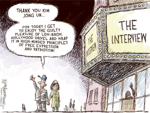 Cartoonist Nick Anderson  Nick Anderson's Editorial Cartoons 2014-12-28 patriotism