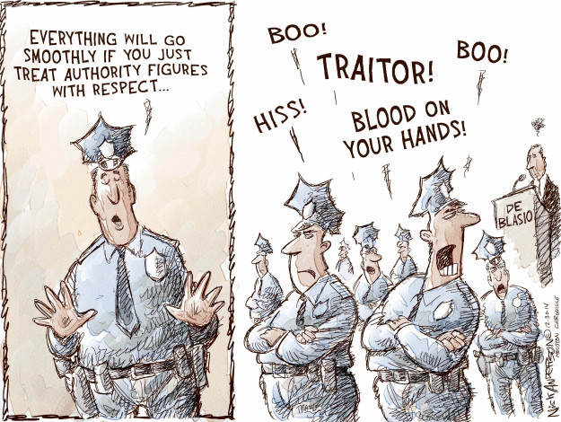 Nick Anderson  Nick Anderson's Editorial Cartoons 2014-12-30 law enforcement