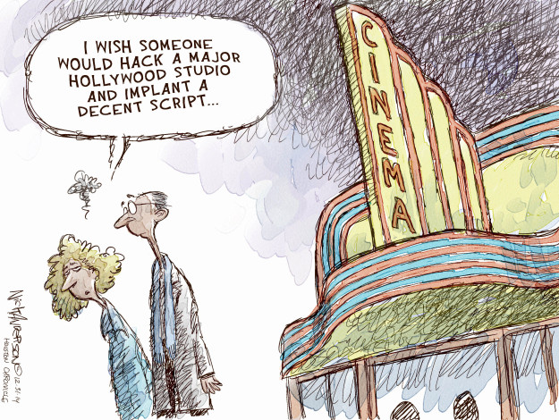 Nick Anderson  Nick Anderson's Editorial Cartoons 2014-12-31 entertainment