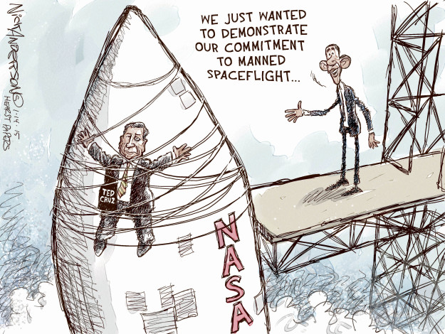 Cartoonist Nick Anderson  Nick Anderson's Editorial Cartoons 2015-01-14 chair