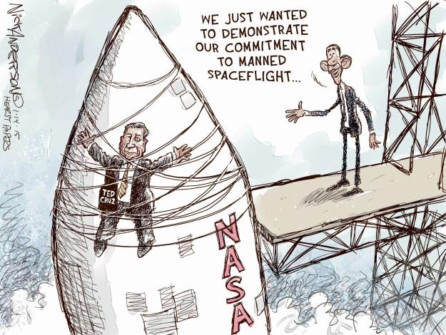 Cartoonist Nick Anderson  Nick Anderson's Editorial Cartoons 2015-01-14 political science