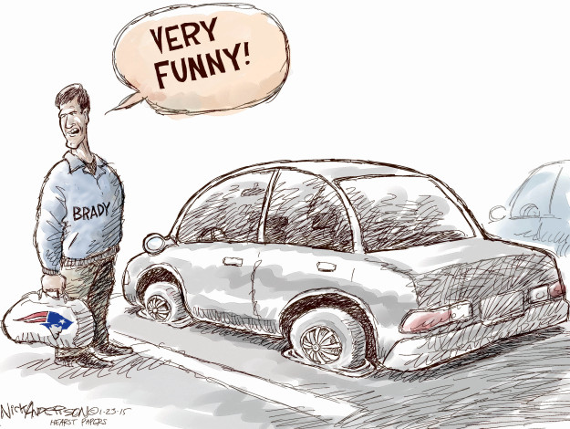 Cartoonist Nick Anderson  Nick Anderson's Editorial Cartoons 2015-01-23 automobile
