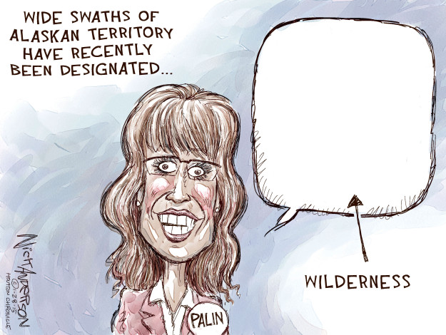 Cartoonist Nick Anderson  Nick Anderson's Editorial Cartoons 2015-01-28 rhetoric