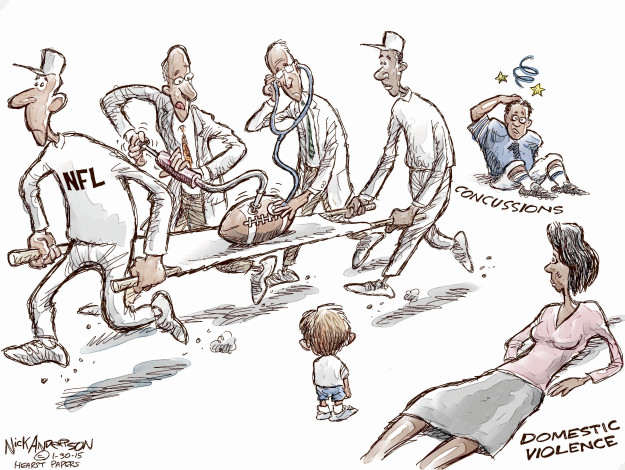 Cartoonist Nick Anderson  Nick Anderson's Editorial Cartoons 2015-01-30 abuse