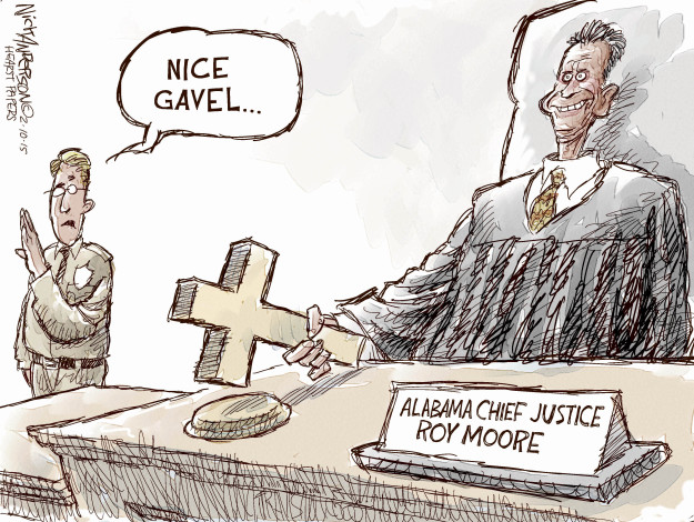 Cartoonist Nick Anderson  Nick Anderson's Editorial Cartoons 2015-02-10 marriage