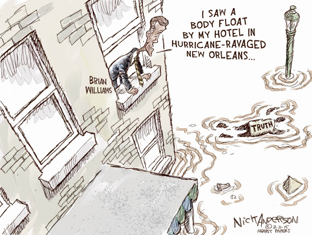 Cartoonist Nick Anderson  Nick Anderson's Editorial Cartoons 2015-02-11 disaster