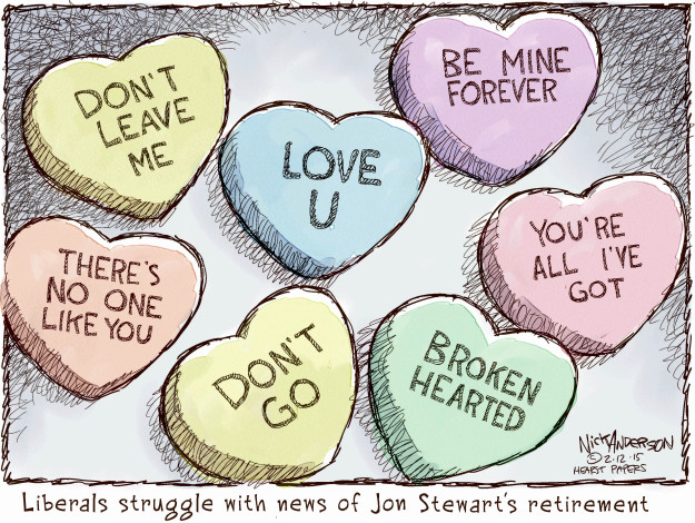 Nick Anderson  Nick Anderson's Editorial Cartoons 2015-02-12 Valentine's Day
