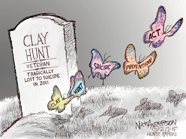 Cartoonist Nick Anderson  Nick Anderson's Editorial Cartoons 2015-02-13 mental health