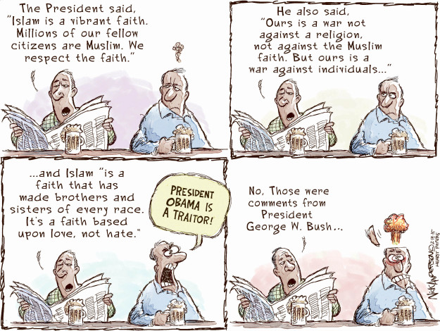 Cartoonist Nick Anderson  Nick Anderson's Editorial Cartoons 2015-02-19 million