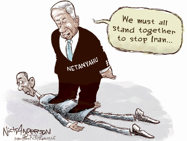 Cartoonist Nick Anderson  Nick Anderson's Editorial Cartoons 2015-03-04 Israel