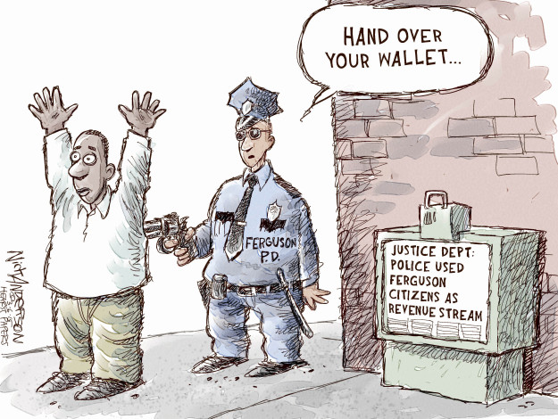 Nick Anderson  Nick Anderson's Editorial Cartoons 2015-03-06 law enforcement