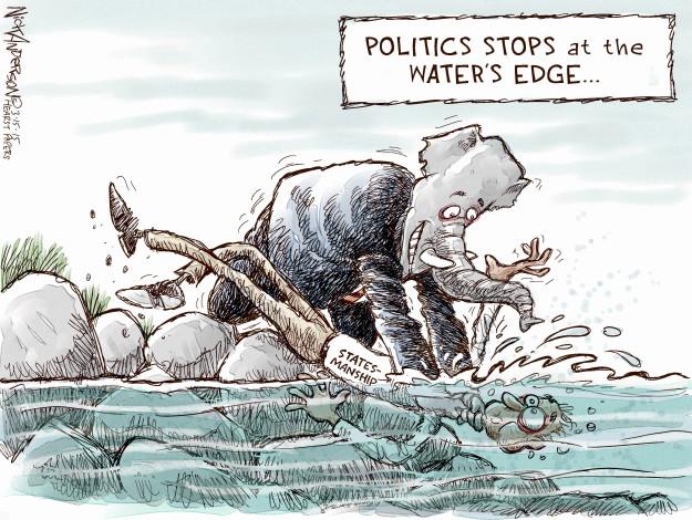 Cartoonist Nick Anderson  Nick Anderson's Editorial Cartoons 2015-03-15 international politics