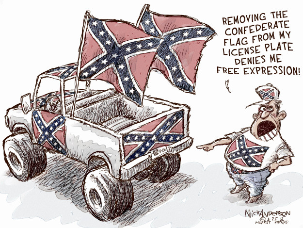 Cartoonist Nick Anderson  Nick Anderson's Editorial Cartoons 2015-03-25 freedom