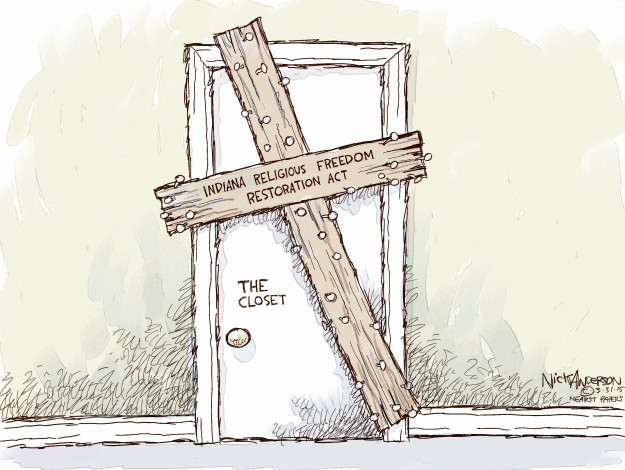 Cartoonist Nick Anderson  Nick Anderson's Editorial Cartoons 2015-03-31 extremism