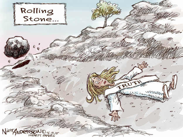 Cartoonist Nick Anderson  Nick Anderson's Editorial Cartoons 2015-04-07 truth