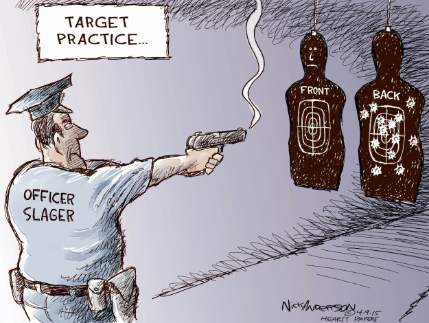 Nick Anderson  Nick Anderson's Editorial Cartoons 2015-04-09 officer