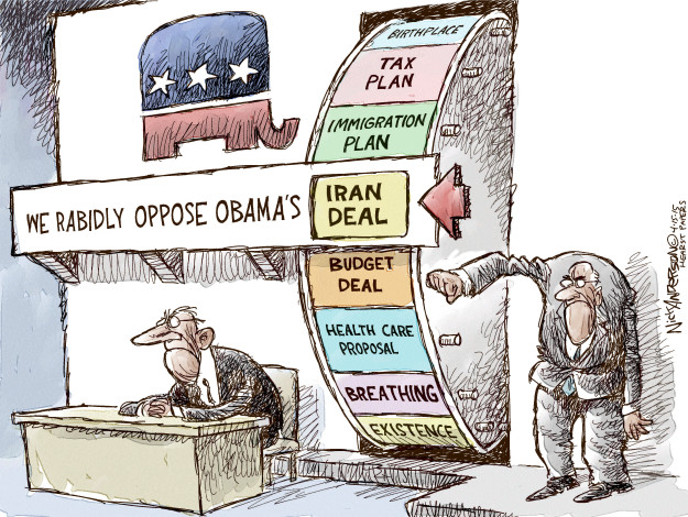 Nick Anderson  Nick Anderson's Editorial Cartoons 2015-04-15 atomic bomb