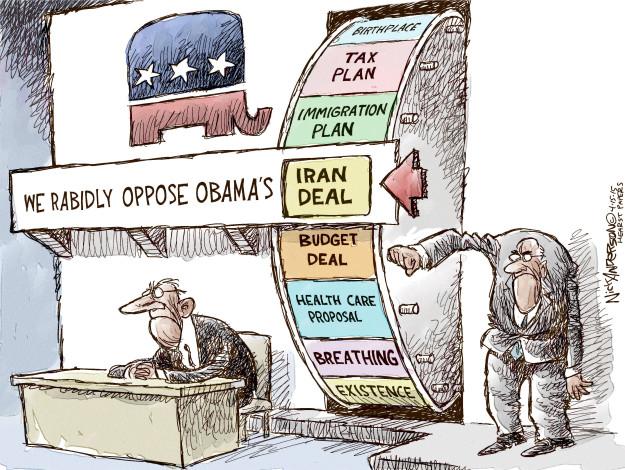 Cartoonist Nick Anderson  Nick Anderson's Editorial Cartoons 2015-04-15 health care policy