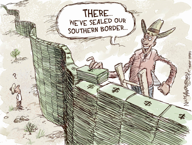 Nick Anderson  Nick Anderson's Editorial Cartoons 2015-04-19 immigration