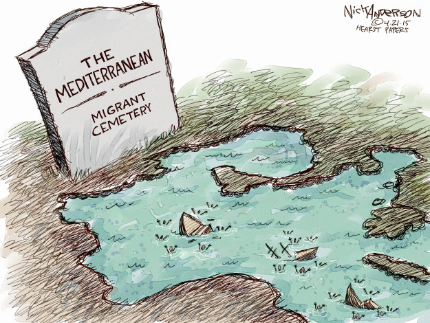 Cartoonist Nick Anderson  Nick Anderson's Editorial Cartoons 2015-04-21 human