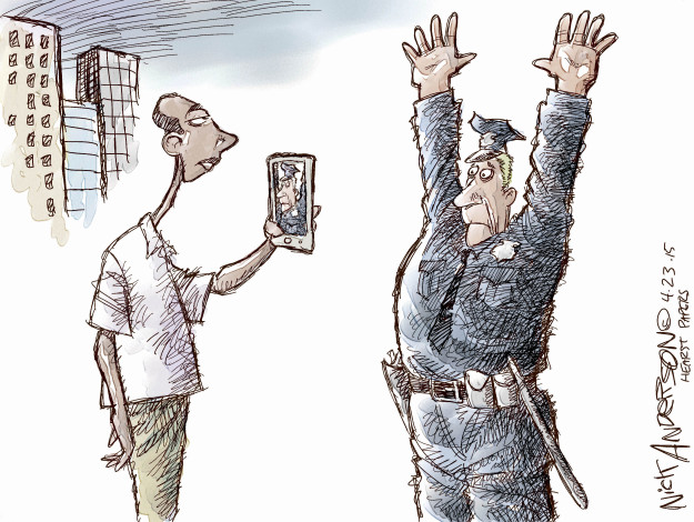 Cartoonist Nick Anderson  Nick Anderson's Editorial Cartoons 2015-04-23 make