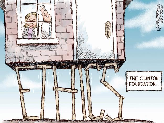 Cartoonist Nick Anderson  Nick Anderson's Editorial Cartoons 2015-04-26 Bill Clinton