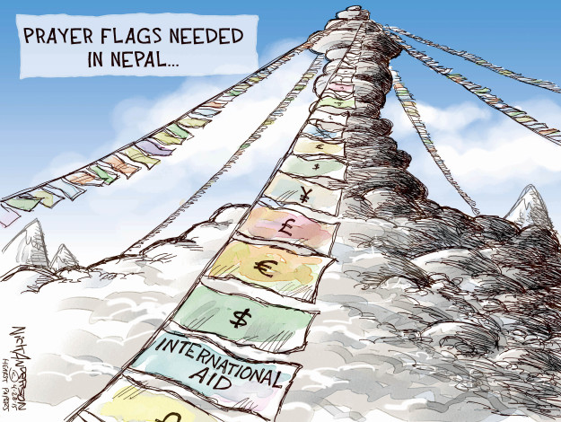 Nick Anderson  Nick Anderson's Editorial Cartoons 2015-04-28 chinese