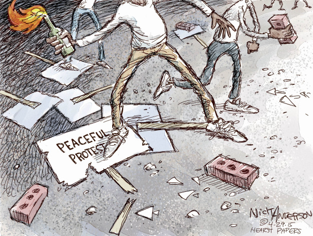 Cartoonist Nick Anderson  Nick Anderson's Editorial Cartoons 2015-04-29 inequality