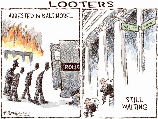 Cartoonist Nick Anderson  Nick Anderson's Editorial Cartoons 2015-05-01 wait
