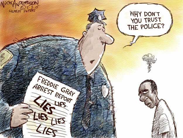 Cartoonist Nick Anderson  Nick Anderson's Editorial Cartoons 2015-05-03 inequality