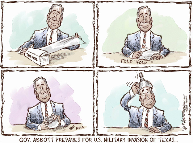 Cartoonist Nick Anderson  Nick Anderson's Editorial Cartoons 2015-05-07 invasion