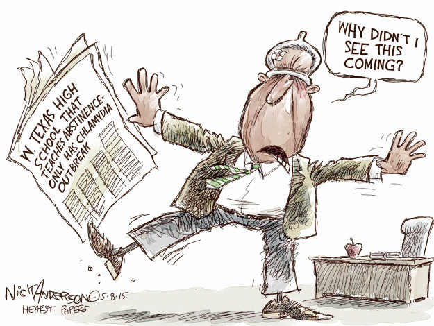 Cartoonist Nick Anderson  Nick Anderson's Editorial Cartoons 2015-05-08 sex
