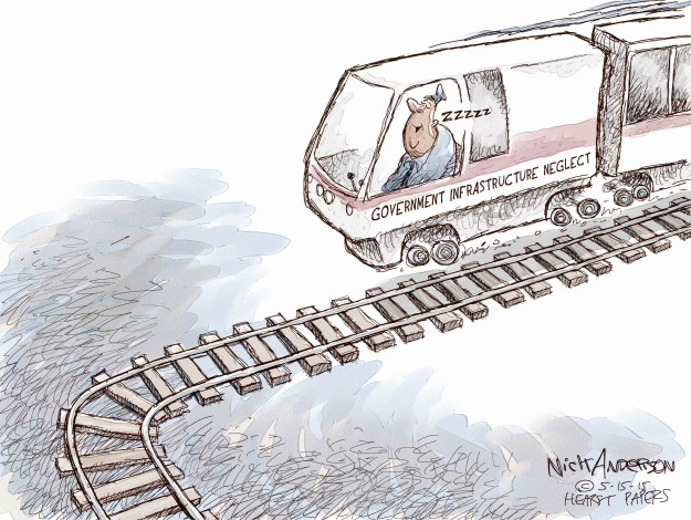 Cartoonist Nick Anderson  Nick Anderson's Editorial Cartoons 2015-05-15 government