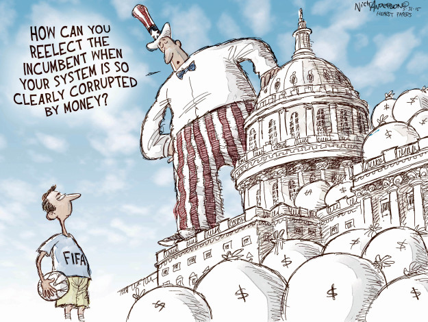 Nick Anderson  Nick Anderson's Editorial Cartoons 2015-05-31 political corruption