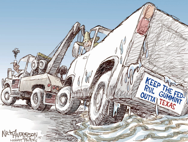 Cartoonist Nick Anderson  Nick Anderson's Editorial Cartoons 2015-06-03 disaster